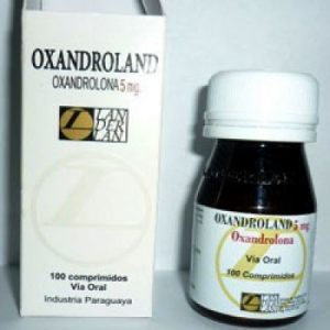 Oxandrolona 100caps - 05mg